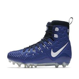 Nike Force Savage Elite TD Football Cleats Blue 9